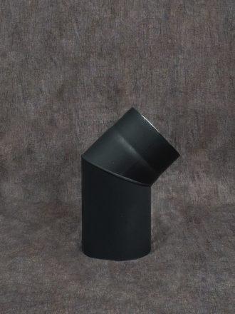 Kouřovod silnostěnný koleno 45°