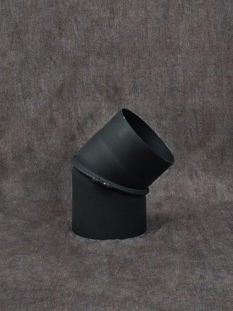 Kouřovod silnostěnný koleno stavitelné dvousegmentové