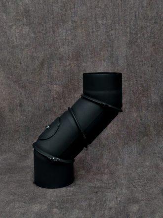Kouřovod silnostěnný koleno stavitelné čtyřsegmentové