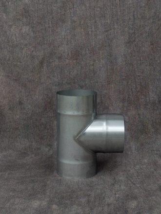 Nerezový kouřovod / pevná komínová vložka odbočka (sopouch) 90°