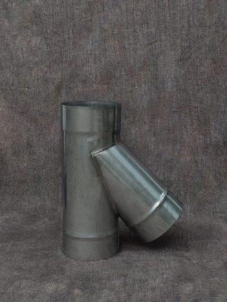 Nerezový kouřovod / pevná komínová vložka odbočka (sopouch) 45°